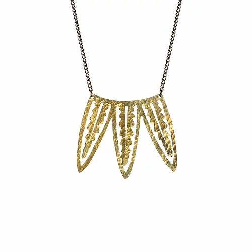 SOT Palm Leaf Necklace